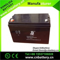 2015 hot sell lead acid solar system storage battery 12v100ah