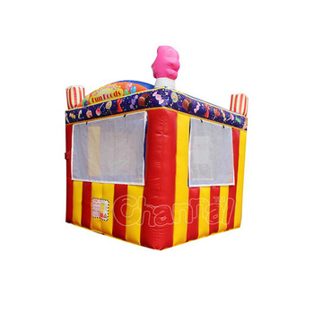 portable inflatable candy ticket tent for outdoor