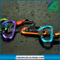 50KG load bearing different shape professional outdoor activity safety carabiner