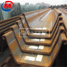 China factory sale WRU12-600 steel sheet piling WRU20- 600 steel plate pile