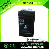 maintenance free small capacity 4v2ah sealed rechargeable lead acid battery