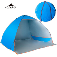 4 person New arrival family camping folding pop up beach tent