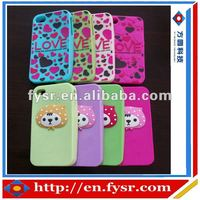Cute Silicon Case Cover For phone/Cell Phone Case/Design Case For phone