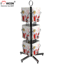 Merchandising Retail Store Fixtures Free Standing Literature Magazine Comic Book Gift Card Toy Display Rack