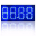 wholesale poupular product rectangle charming led digit price panelfor gas station