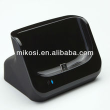 Data Sync Desktop Charging Dock for Galaxy S3 I9300 with USB Cable