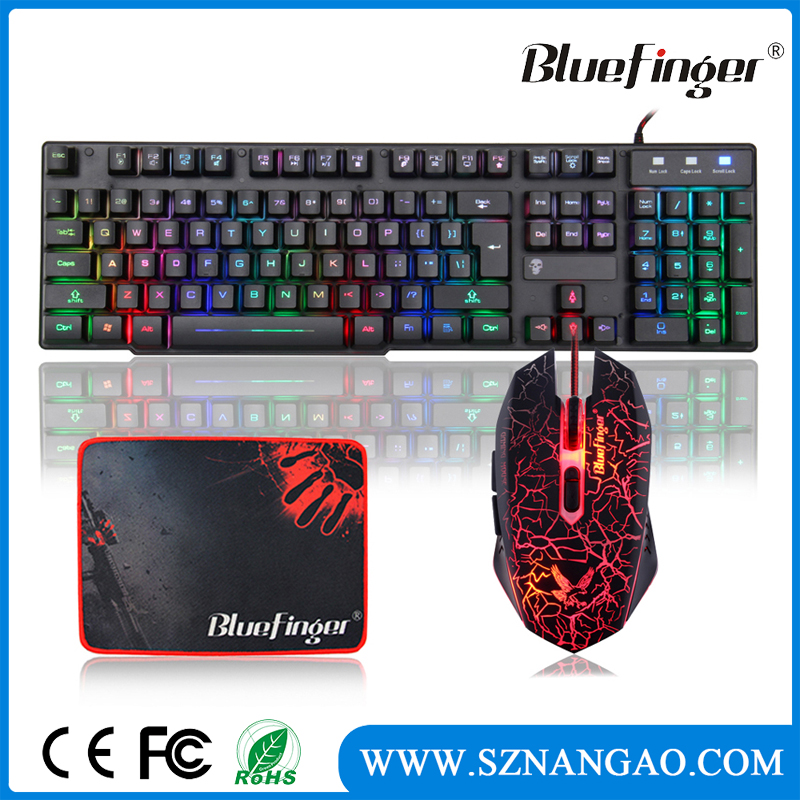 Manufacturer Supplier gamer keyboard and mouse