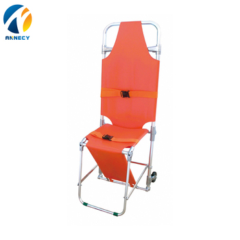 AC-FS012 High quality emergency equipment folding strong ambulance chair stretcher medical