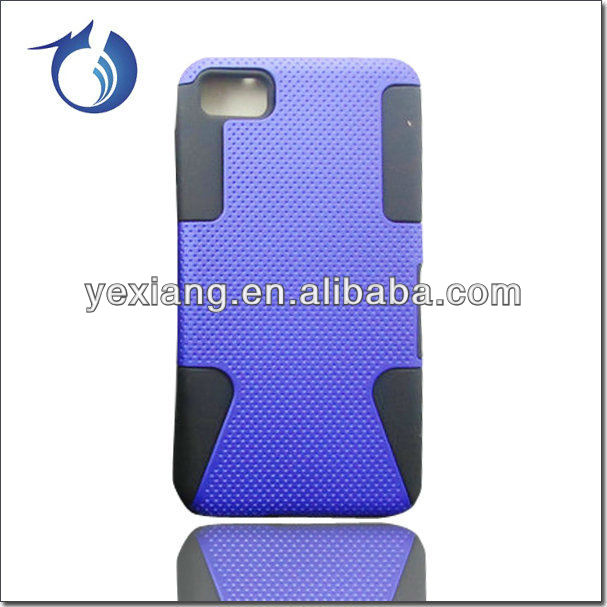 China Wholesale Cover Case For Blackberry Z10 Hybrid Phone Case