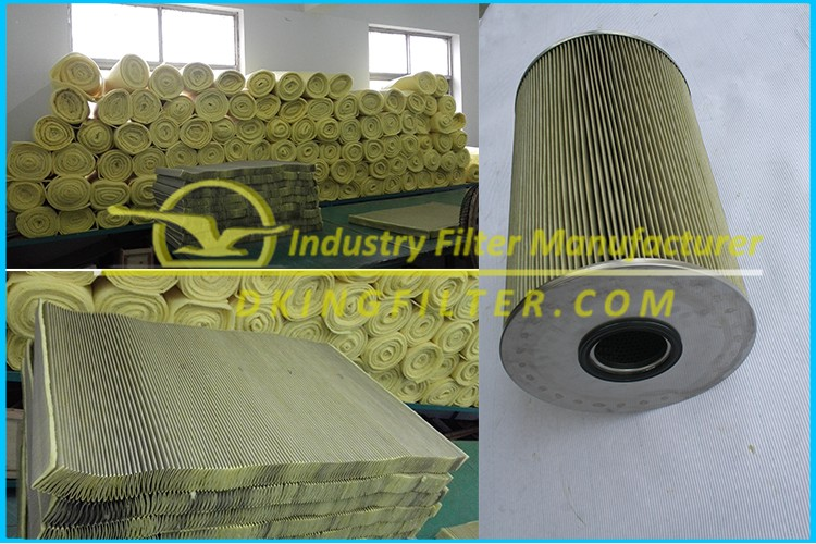Supply Industrial high temperature air filter material air filter supplier