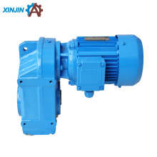 parallel hollow shaft helical speed reducing gear motor for belt conveyor