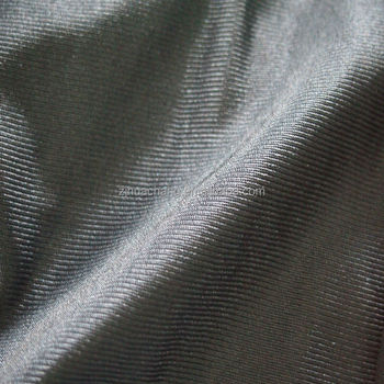 100% polyester plain dyed dazzle tricot fabric