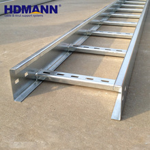 HDmann Brand Best Quality Steel Cable Tray ISO NEMA Certificated HDG Cable Ladder