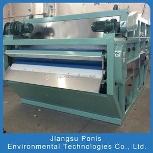 Sludge Dewatering Belt Filter Press Machine Made in China