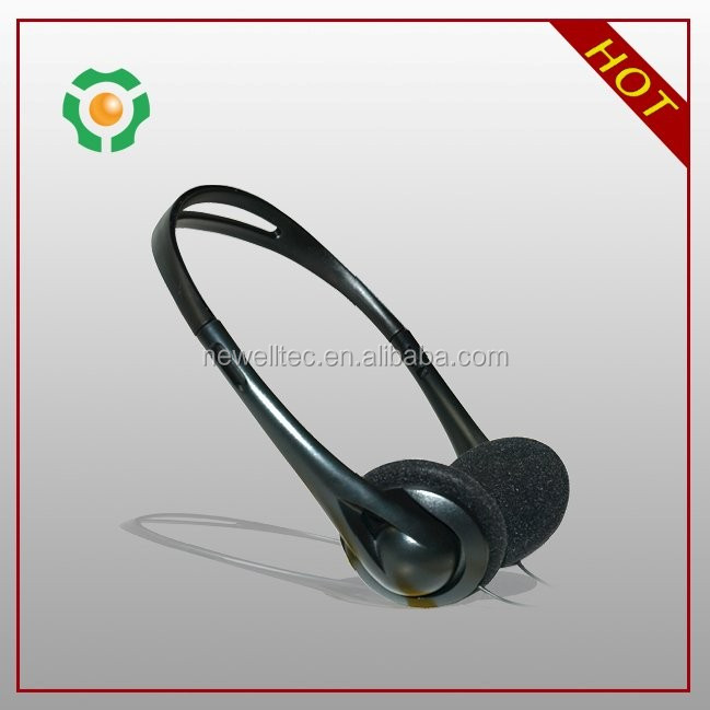 Disposable Headset /Aviation Headset /Disposable Headphone For Airplanes audifonos