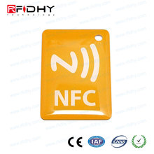 Soft Secure INDUSTRIAL NFC TAGS NTAG213 For Loyalty Programs