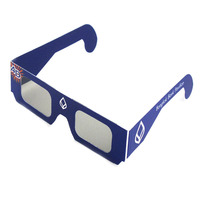 Paper frame chromadepth 3d glasses