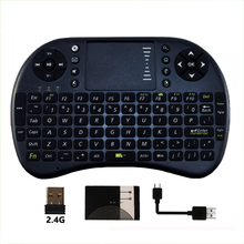 i8 air fly mouse 2.4G Wireless Mini Keyboard with touchpad