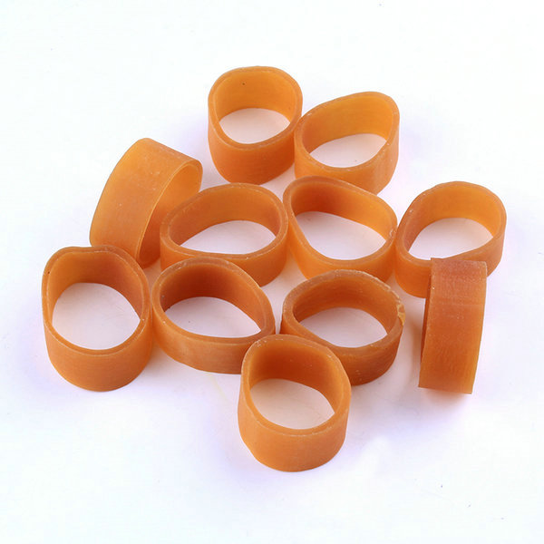 elastic natural small rubber band for agricultural use
