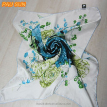 fashion design white silk scarf for painting