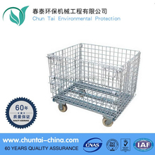 Heavy Duty Portablel storage metal cage with wheels