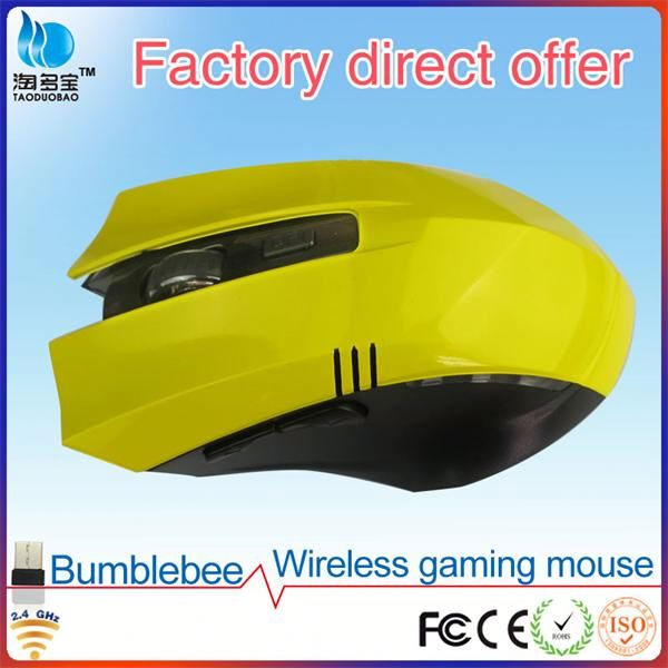 Wireless Optical 6d made in china game mouse