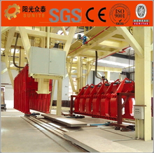 AAC block making machine on Canton Fair import export to kenya