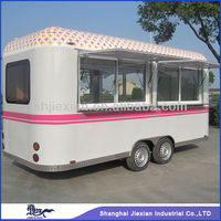 2014 Jiexian FS-500 newly design outdoor food Kiosk trailer!!!Mobile food truck for Fried chicken,food matters trailer