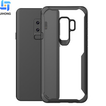 For Samsung Galaxy S9 Case , Clear Bayer TPU PC Combine Hybrid Mobile Phone Cover for Samsung S9 Case