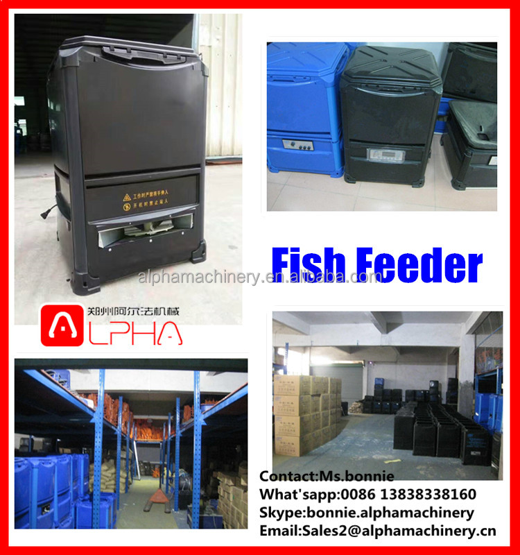 Automatic fish farming automatic fish food feeder for poultry