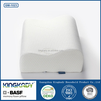 Factory direct wholesale cervical protection memory contour bamboo pillow with bag