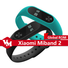 Global Version Xiaomi Miband 2 Mi Band 2 Smart Bracelet With Heart Rate Monitor Fitness Tracker International Xiaomi Miband 2