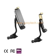 New design car cell phone charger holder,5V,1.5A,3A,HC-03