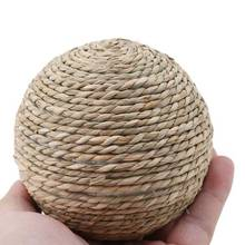 Rabbit Straw Grass Scratching Ball Pet Toy