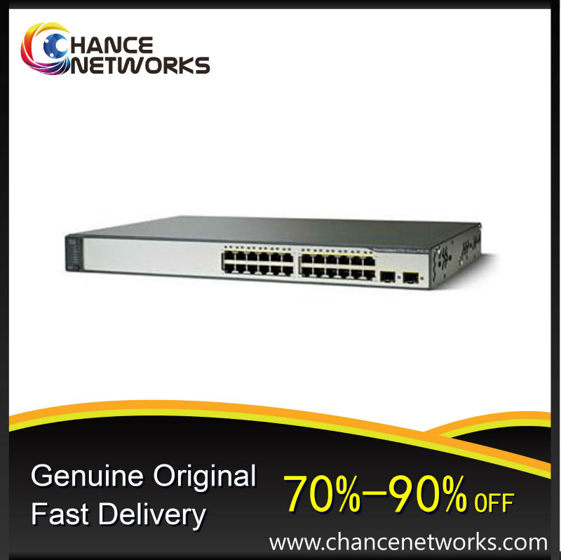 Hot selling CISCO CATALYST 3750V2-24PS switches