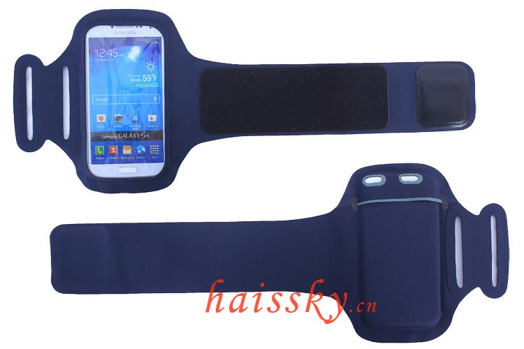 HAISSKY Hot Selling Adjustable Running Cycling Gym phone Lycra Phone Armband