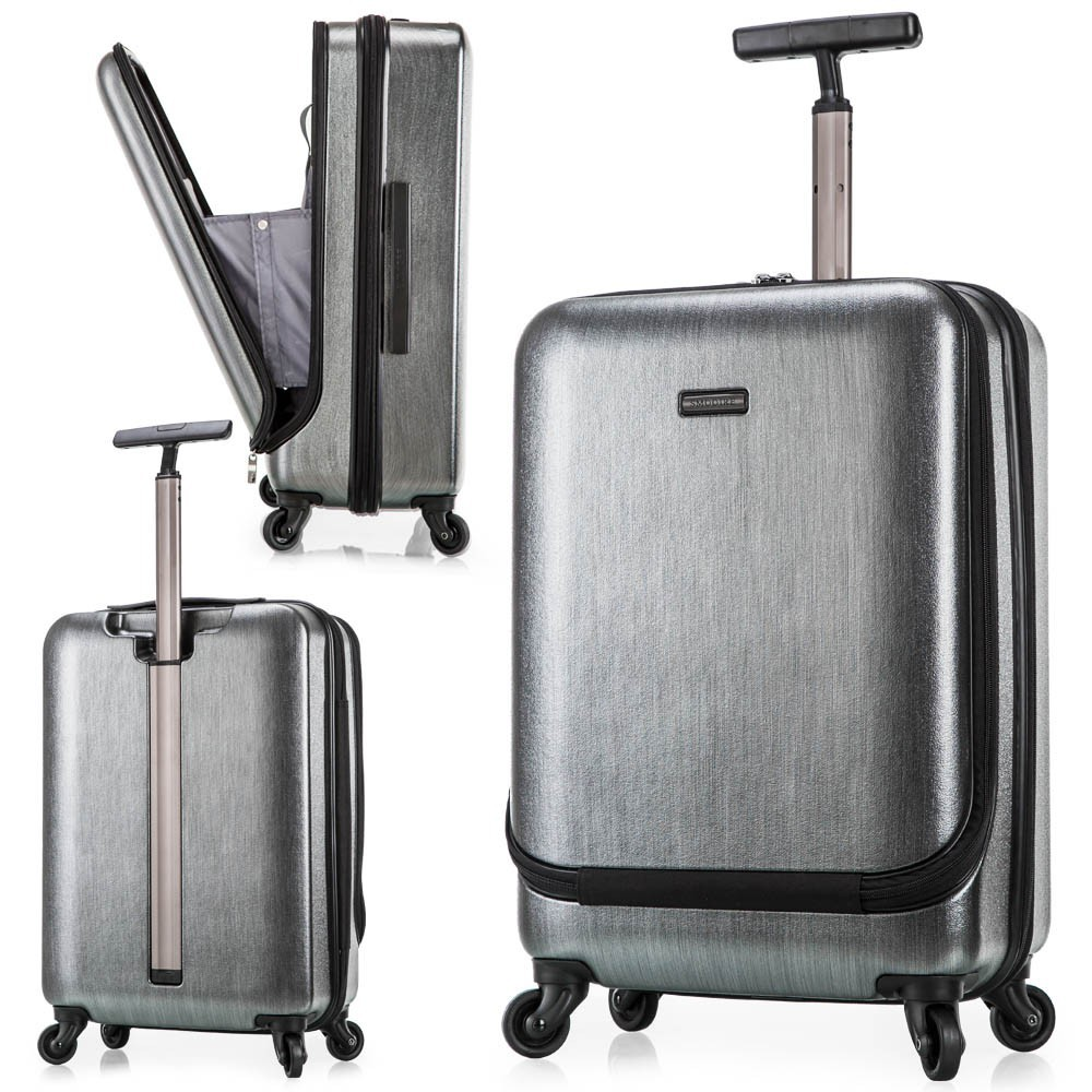 Polycarbonate Pc American Brand Luggage With A Pocket - Buy ...