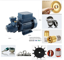 Iraq market pump Copper impeller 1inch 0.37kw,0.5hp KF/0,KF/1,PM45 Small Electric Vortex Water Pump motor with thermal protector