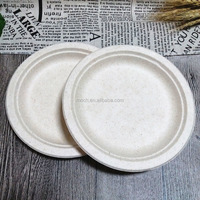 Compostable Dinner Plate Wheat Straw Biodegradable Plates