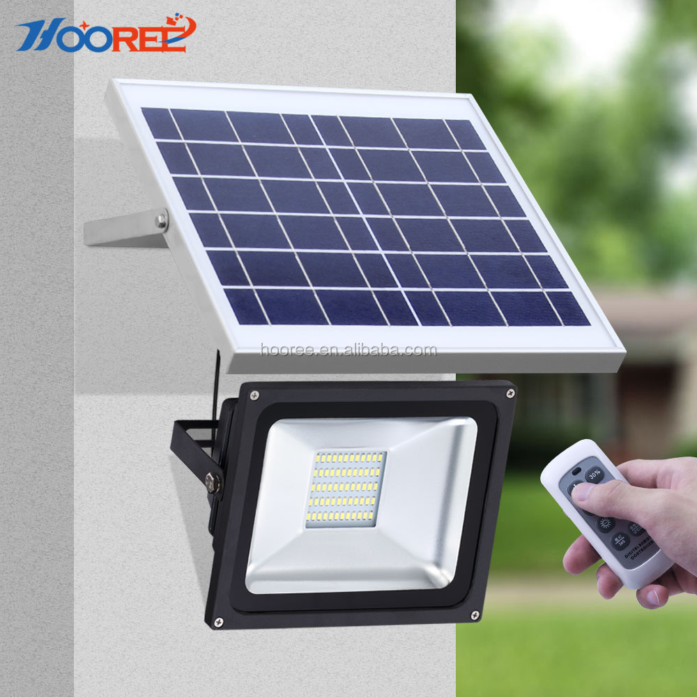 2017 new IP65 10w-60w remote control solar power led street light outdoor food light