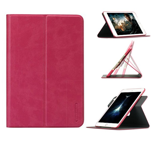 9.7 Inch For Ipad Cover Rotate Print Design Tablet Leather Case 360 Degree Rotation Stand For Ipad Air2
