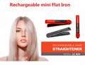 Wireless Rechargeable mini flat iron USB charger mini hair straightener