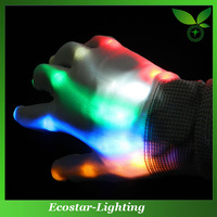 RGB Flashing LED Gloves Wholesale Rainbow Glowing Gloves