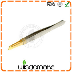 BEST WM-ETS1605 Stainless steel Long Tweezer for Eyelash Extension