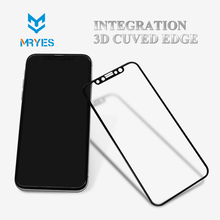 Anti Dirt 3D Durable scratch custom screen cleaner for iphone x tempered glass