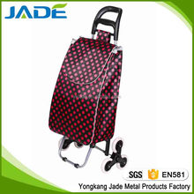 6 wheel folding shopping trolley bag with removable bag,3 wheel stair climber shopping trolley cart wholesale alibaba