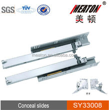 Full Extension Telescopic Slide Soft Close
