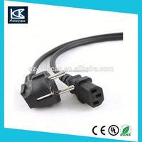 European power extension cord,European power cords IEC connector C15 plug VDE