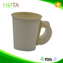 020013 HOTA cup 7oz paper cup for hot drink paper cup with handle