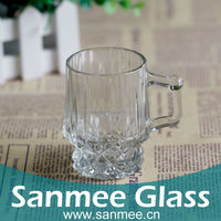 Novelty Drinking Glassware Bar Glass Wholesale Diamond Engraved Moroccan Tea Glass